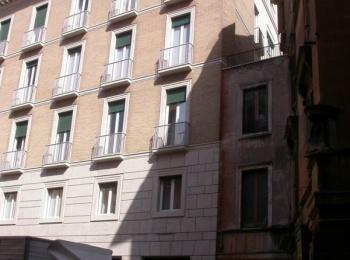 Rome  Building in L.go Toniolo hosting offices of the italian Republic Senate
