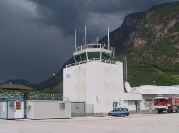 Blocco Tecnico e TWR presso l'Aeroporto di Bolzano