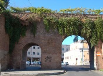 Mura Aureliane e Porta Pinciana