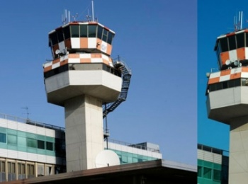 Control Tower - Airport of Venezia Tessera