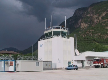 Control Tower and the technical block - Airport of Bolzano